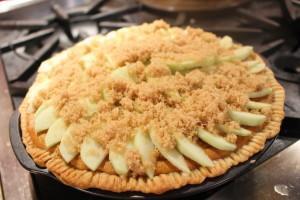 Sweet Potato Apple Pie Topping