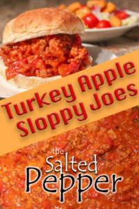Turkey Apple Sloppy Joes Pinterest Pin