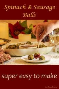 Spinach & Sausage Balls