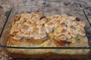 Baked Nutella & Banana French Toast