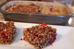 Cranberry Almond Quinoa BarsBars