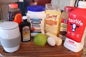 Healthy 3-Minute Apple Cinnamon Muffin