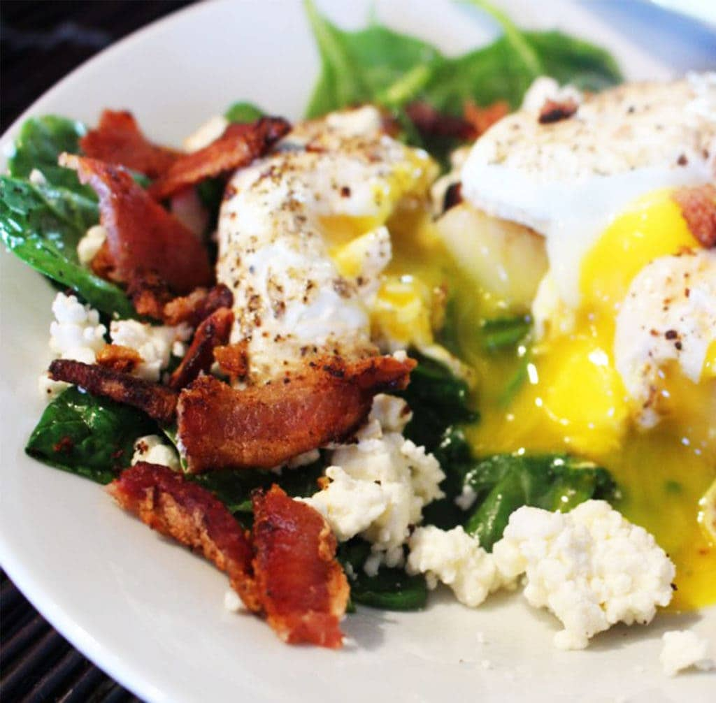 Sunny Spinachia Breakfast Bowl