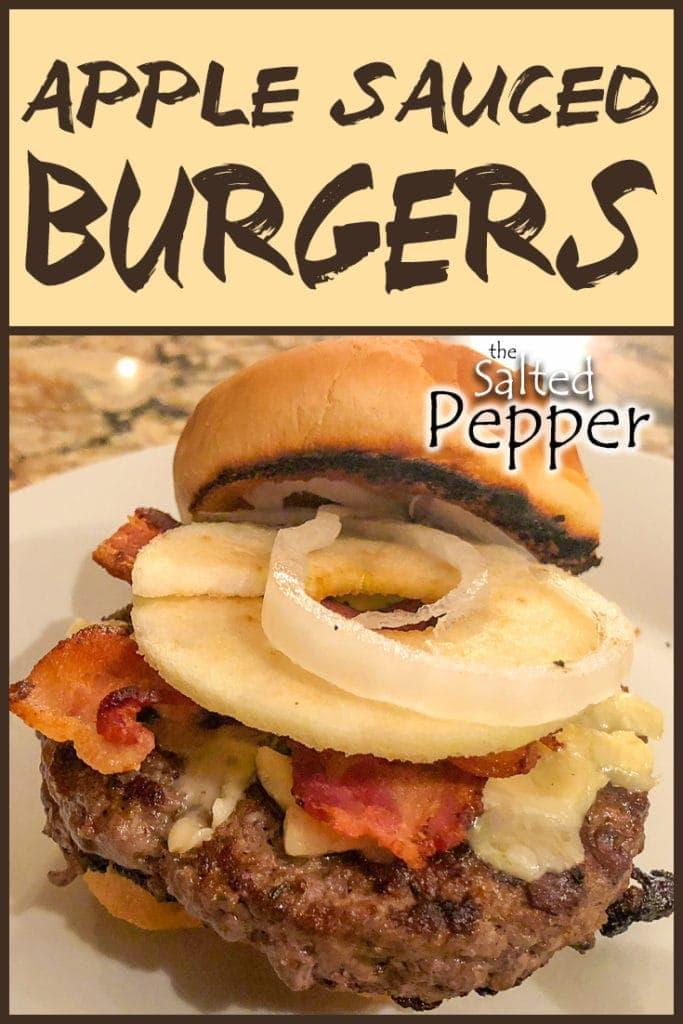 Apple Sauced Burgers