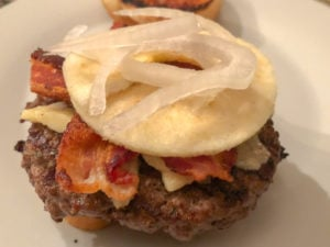 Apple Sauced Burgers