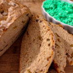 Irish Soda Bread with Tangy Green Butter