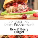 Brie & Berry Burger