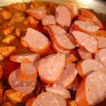 Cajun Jambalaya sausage added