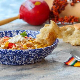 Mexcian Butternut Squash Soup