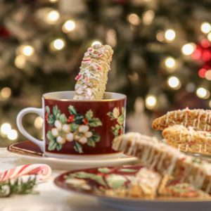 Christmas Biscotti
