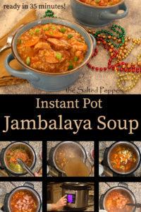 Instant Pot Jambalaya Soup