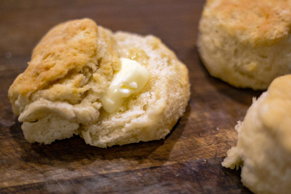 Easy Homemade Biscuits in the Ninja Foodi