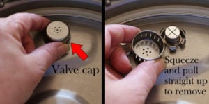 How to use the Ninja Foodi valve cap