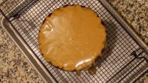 Ninja-Foodi-Apple-Cake-glazed-bottom-layer