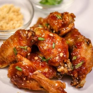 Ninja Foodi Asian Sticky Wings