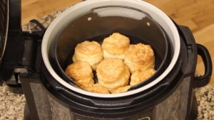 Easy Homemade Biscuits made in the Ninja Foodi