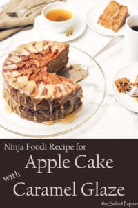 Ninja Foodi Recipe Apple Cake