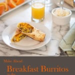 Breakfast Burritos in the Ninja Foodi