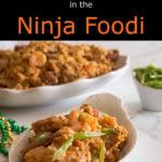 Cajun Jambalaya in the Ninja Foodi pin