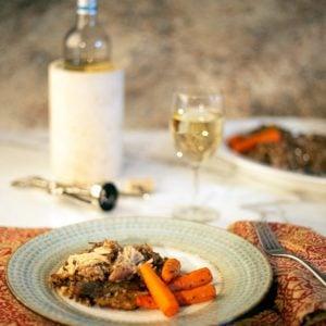 Ninja Foodi Chicken & Wild Rice with Carrots