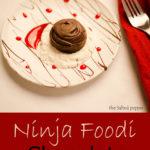 Ninja Foodi Chocolate Cake Bites