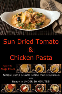 Sundried tomato and chicken pasta pin
