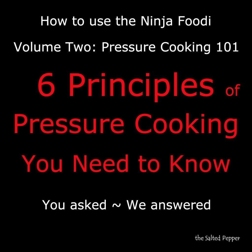 pressure cooking 101