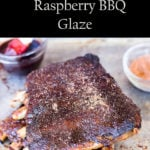 Ninja Foodi Ribs with Raspberry BBQ Glaze