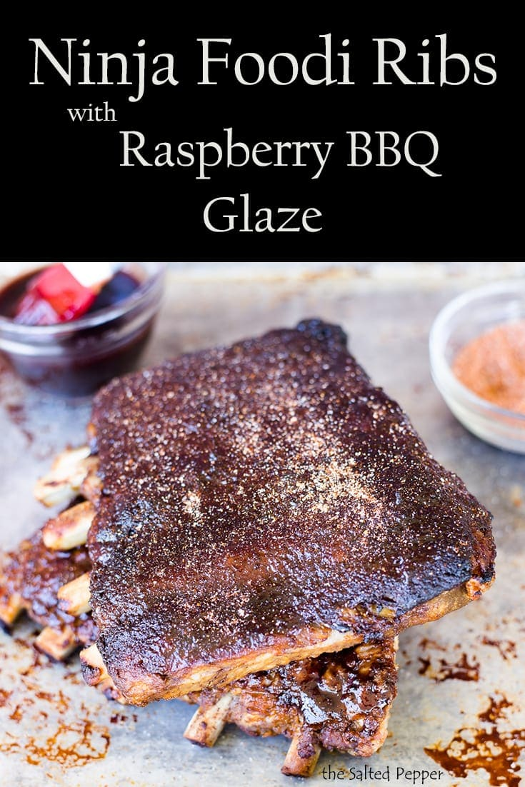 Ninja Foodi Ribs with Raspberry BBQ Glaze