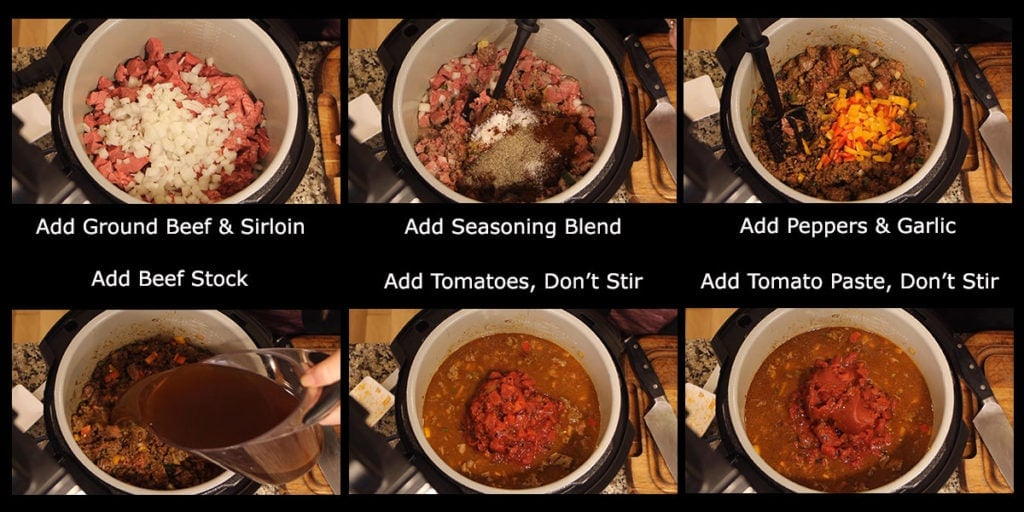 Quick Chili graphic with steps