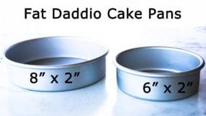 """Ninja Foodi Accessories: 8"""" Fat Daddio pan and 6"""" Fat Daddio cake pan"""