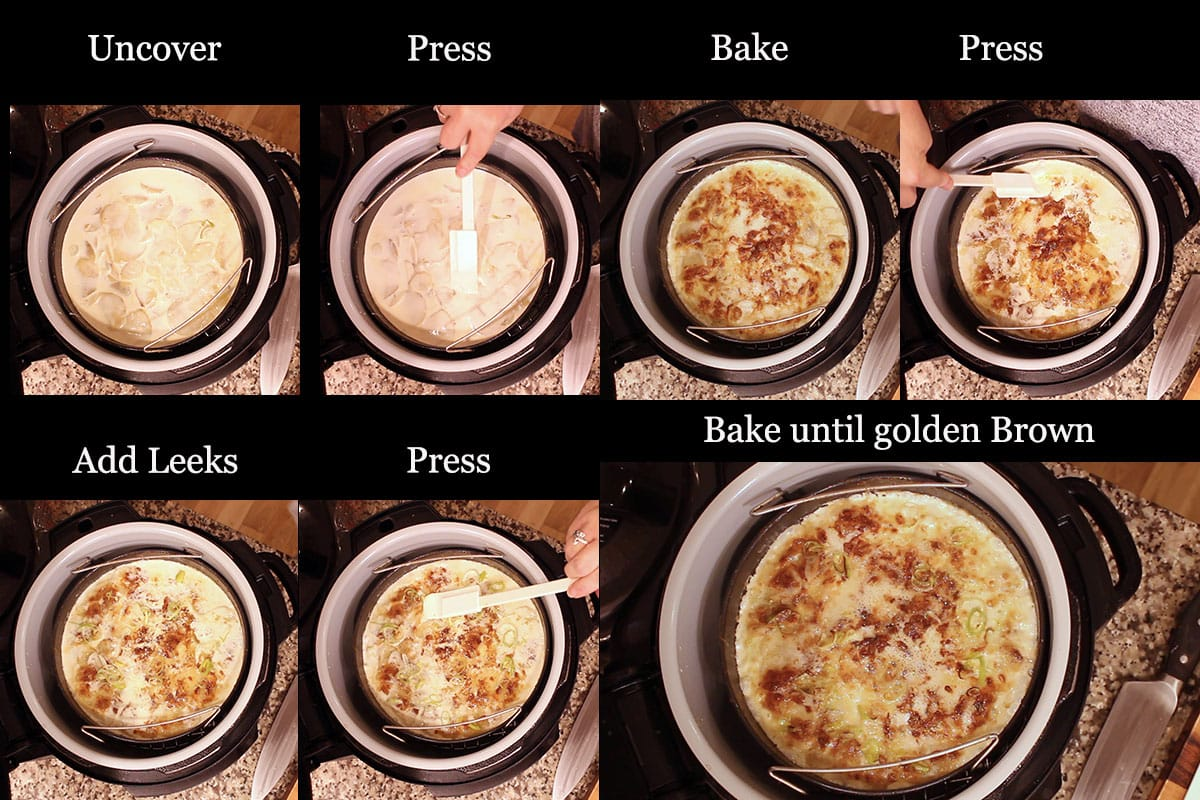 steps for baking scalloped potatoes