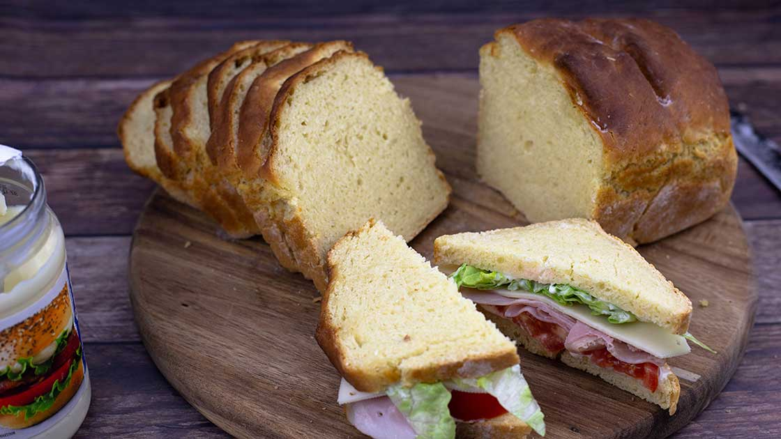No Yeast Bread Ninja Foodi Recipe The Salted Pepper