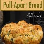 Jalapeno cheddar pull apart bread