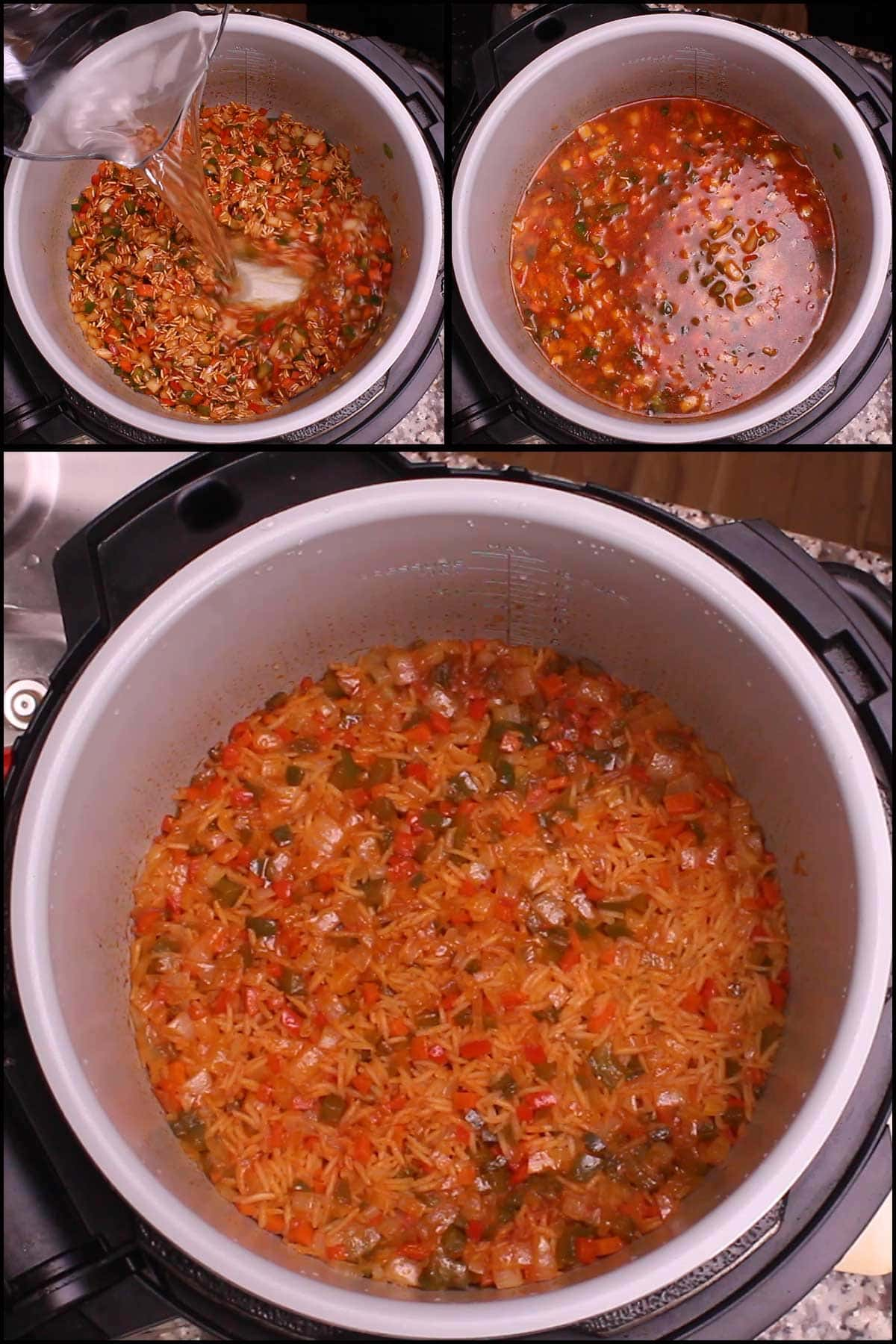 Steaming Mexican Rice