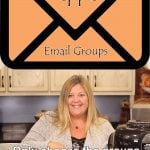 graphic showing an envelope with text to join one of the salted pepper email groups