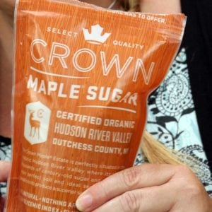 bag of maple sugar