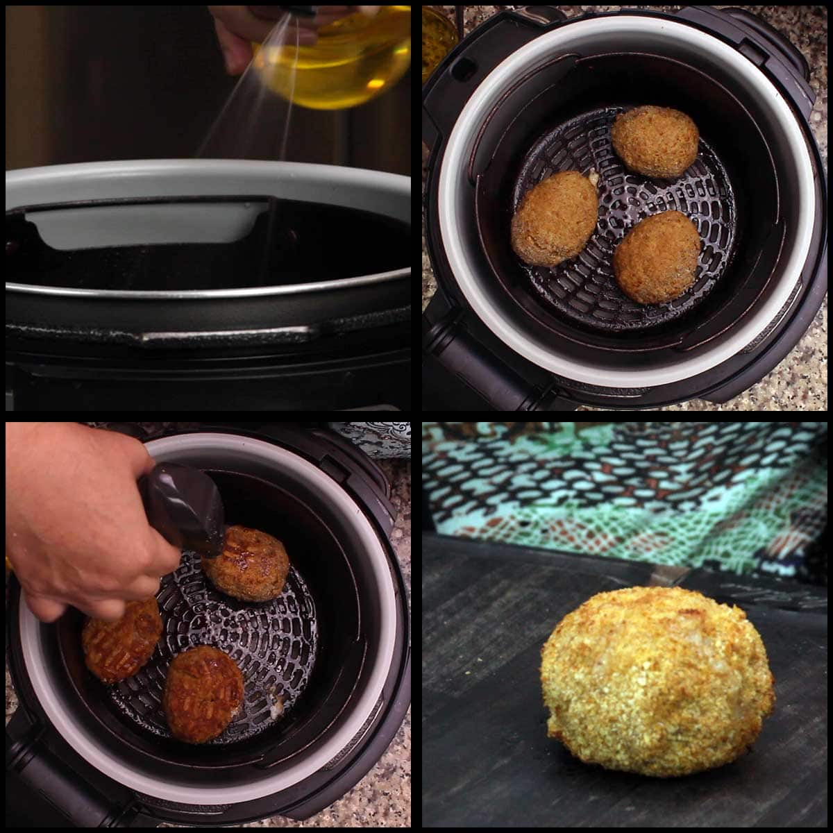 Air Frying Scotch Eggs