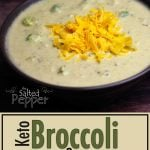 bowl of broccoli and cheese soup with shredded cheddar on top