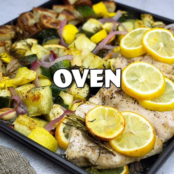 showing oven category