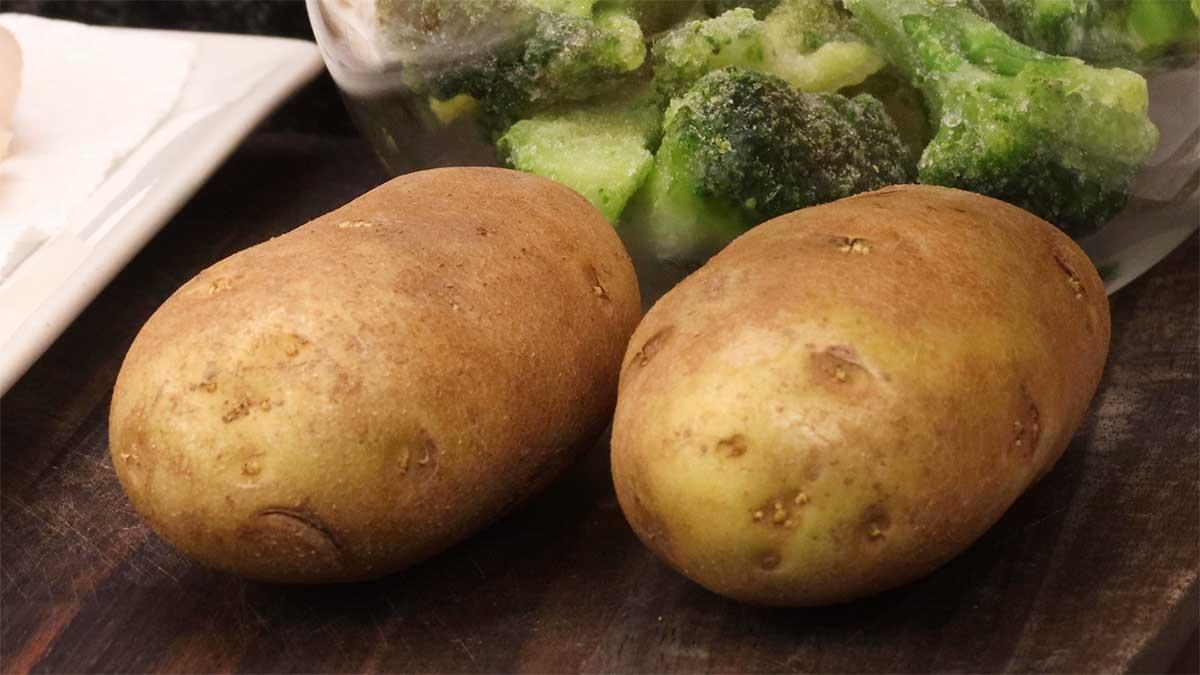 potatoes for surf & turf in the ninja foodi