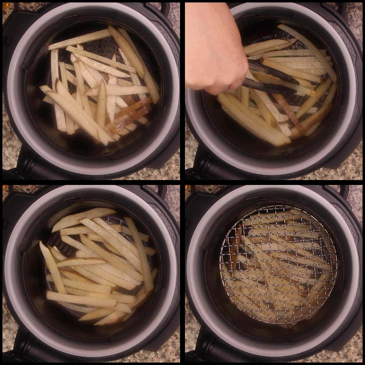 air frying french fries