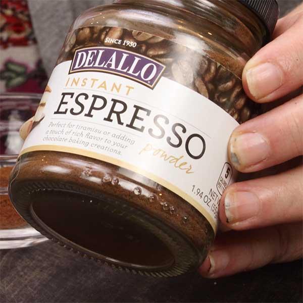 delallo espresso powder