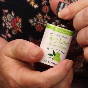Key Lime Oil bottle