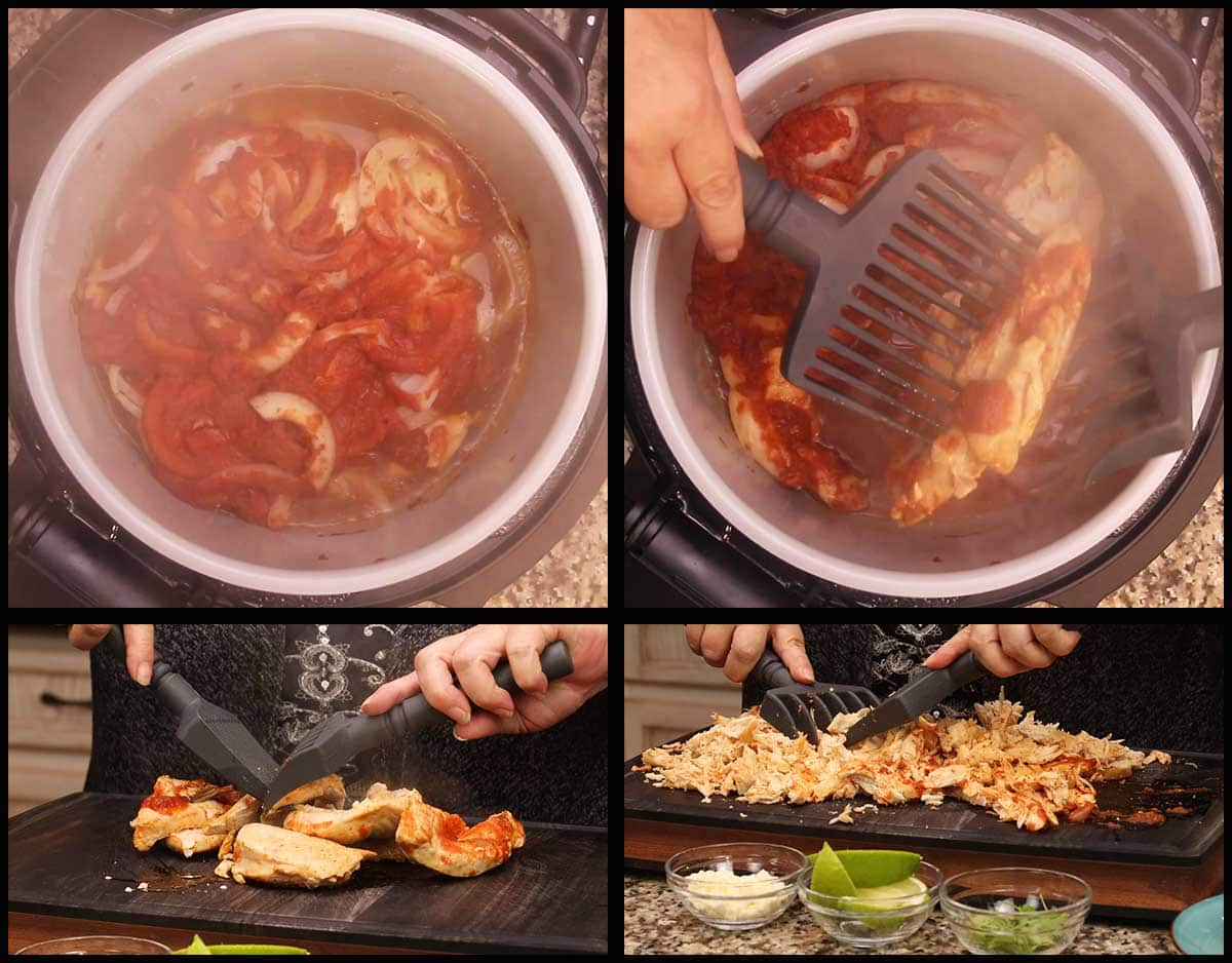 Shredding Chicken after slow cooking